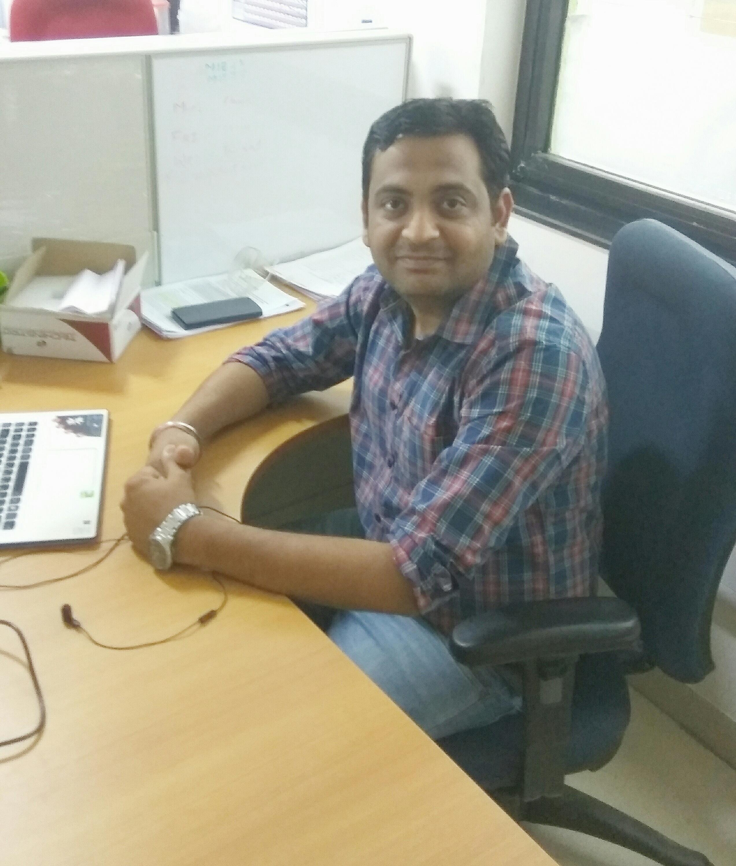 Portrait of Abhijeet Ojha